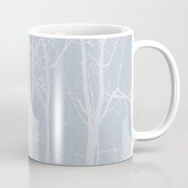 Tree silhouettes on bluestone Coffee Mug