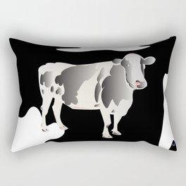 Country Cow Rectangular Pillow