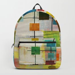 Mid-Century Modern Art 1.3 -  Graffiti Style Backpack