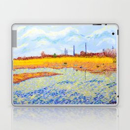 View of John Heinz Nature Reserve Pond Laptop & iPad Skin