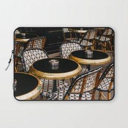 Paris Cafe VIII Laptop Sleeve
