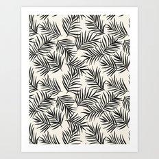 Pam Leaves Art Print