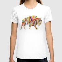 buffalo T-shirts featuring Buffalo by Alex Dehoff