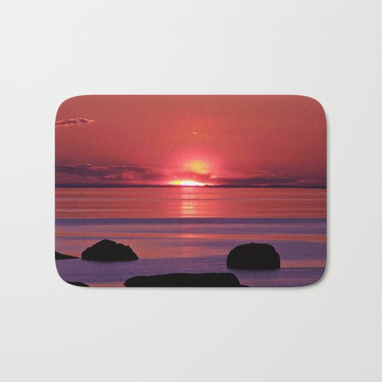Sunset Ripples Bath Mat