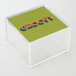 Groovy Acrylic Box