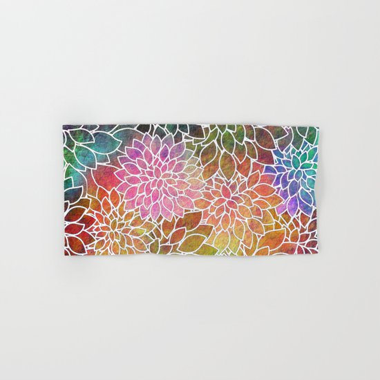 Floral Abstract 6 Hand & Bath Towel