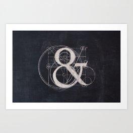 Ampers& Art Print