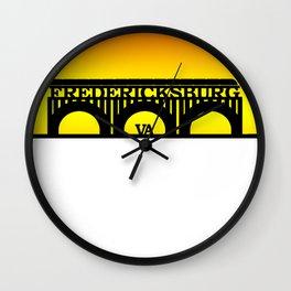 Fredericksburg, Virginia Wall Clock