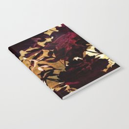 Tropical Blaze Floral Print Notebook