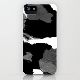 Black Is Back iPhone Case