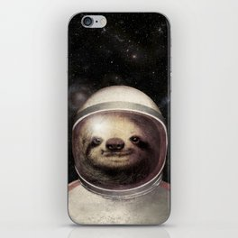 Space Sloth iPhone Skin