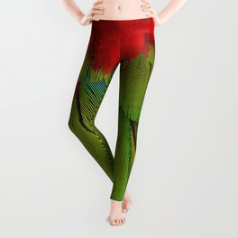 Catalina Macaw Feathers Leggings