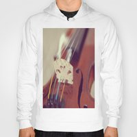 antique Hoodies featuring Antique Violin by KimberosePhotography