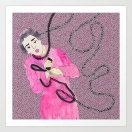 Chatty Cathy Art Print
