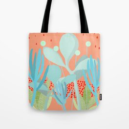 Succulents in the sunshine Tote Bag