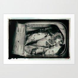 Tin of Sardines Art Print
