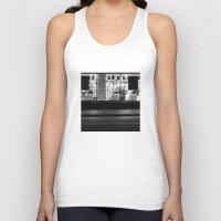 edinburgh Tank Tops featuring Shop window Edinburgh by RMK Creative