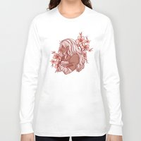 dangan ronpa Long Sleeve T-shirts featuring Cherry Blossoms by bitterkiwi