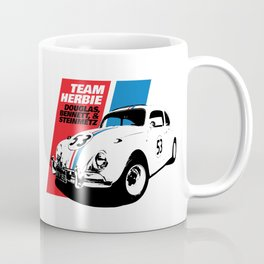 Team Herbie - Love Bug Coffee Mug