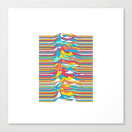 Unknown Colors Canvas Print