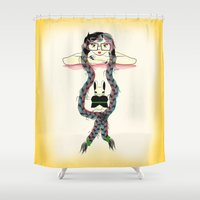 rapunzel Shower Curtains featuring Rapunzel by famenxt
