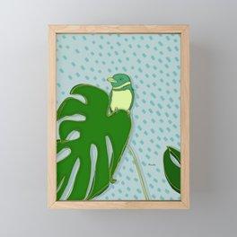 A Rainy Day Framed Mini Art Print