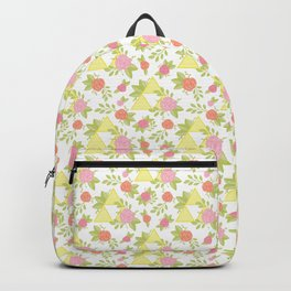 Garden of Power, Wisdom, and Courage Pattern Backpack
