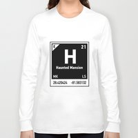 haunted mansion Long Sleeve T-shirts featuring elements of H (Haunted Mansion) by designoMatt