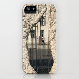 Berlin Wall - Looking Through From Freedom iPhone Case