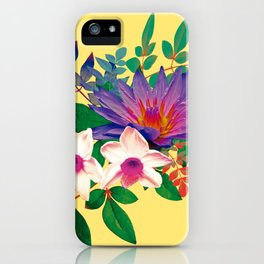 Lilies in summer iPhone Case
