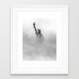 Statue of Liberty, NY Framed Art Print