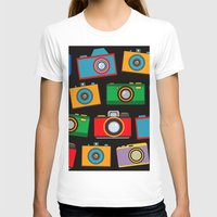 cameras T-shirts featuring colourful cameras by vitamin