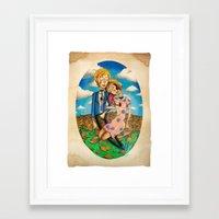 drunk Framed Art Prints featuring Drunk by harrison earl
