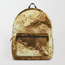 Patchwork Gold Foil Backpack