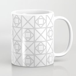 Gray & White Boxes Coffee Mug