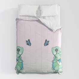 Little Dragon and Butterfly Comforters
