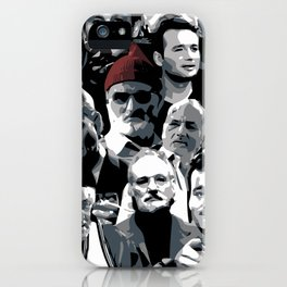 The many faces of Bill Murray iPhone Case