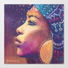 Kwamini Canvas Print