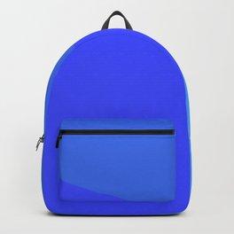 dégradé trapèze bleu roi Backpack