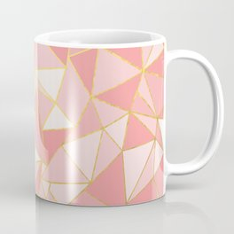 Ab Out Blush Gold Coffee Mug