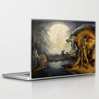 warcraft Laptop & iPad Skins featuring TimberWerewolf by BAXA by baxaart