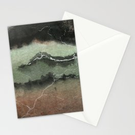 Bittersweet - Atmospheric Abstract Watercolor Pai Stationery Cards