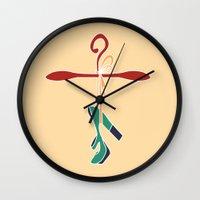 shoe Wall Clocks featuring Shoe by youfor