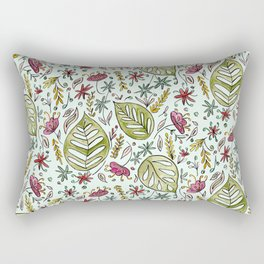 Tropical Rainforest pattern Rectangular Pillow