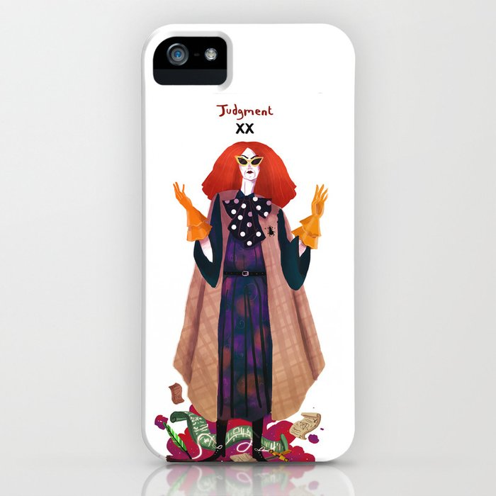 myrtle snow iphone case