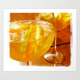 Sangria In The Afternoon Art Print