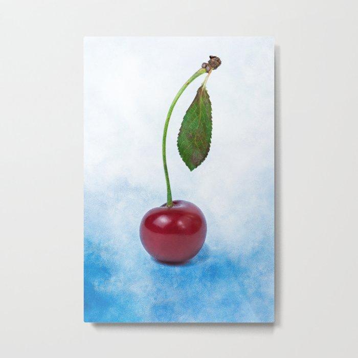 Red cherry berry: The Graduate Metal Print