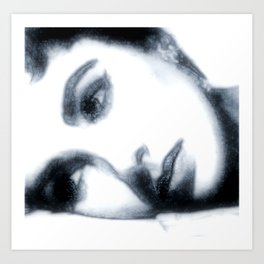 Elizabeth Taylor  2 Art Print