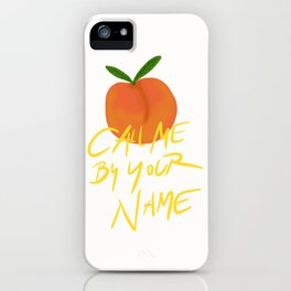 Peach Call Me By Your Name CMBYN iPhone Case
