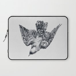 This bird is called a splendid starling Laptop Sleeve
